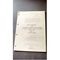 USER HANDBOOK FOR CLANSMAN INSTALLATIONS IN TRUCK 1 TONNE FFR AN GS INTRODUCTION PART 1